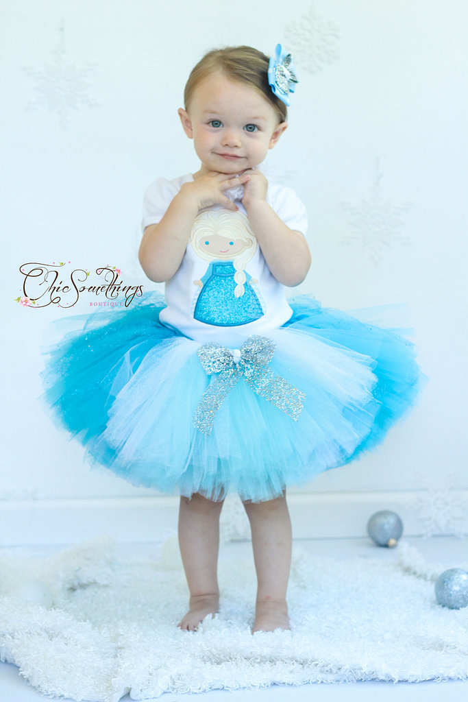 This Frozen tutu ($24) is absolutely perfect for infant Elsa fans. Simply pair with a white or blue t-shirt for a sweet costume this Halloween.
