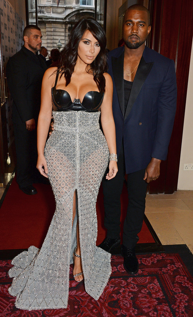 Kim's Dress, Kanye's Smile, and Lots of PDA — There's Just So Much to See Here
