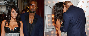 Kim's Dress, Kanye's Smile and Lots of PDA — There's Just So Much to See Here