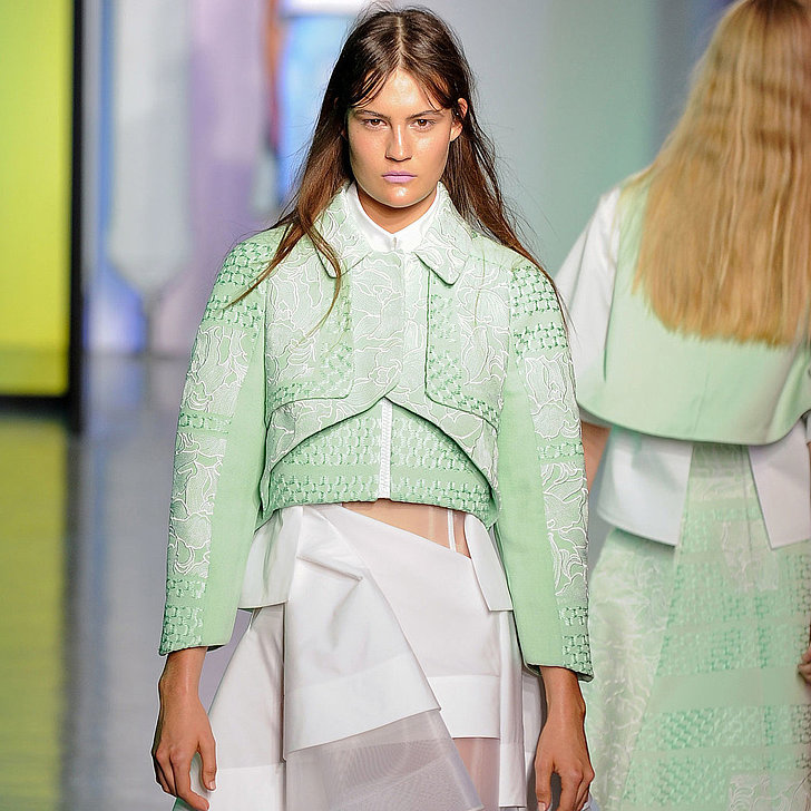Mint Color Trend Spring 2015 | Runway