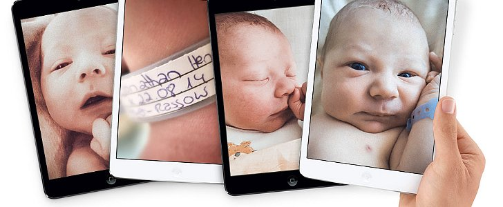 What Happens When Babies Are Announced Just like New iPads