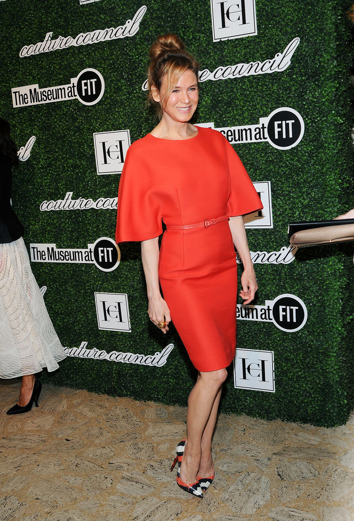 On Wednesday, Renée Zellweger made a rare appearance in NYC, popping up at a fashion event recognizing Carolina Herrera.