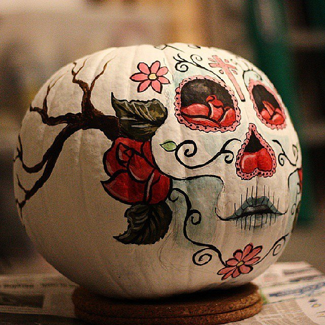 Cultural references ways to decorate pumpkins