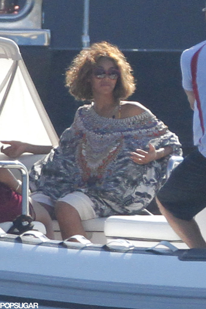 Beyoncé Celebrates Her Big Day on the Beach With Jay Z and Blue