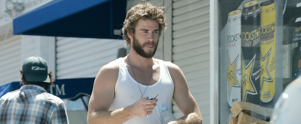 Liam Hemsworth Is Too Hot For Shoes
