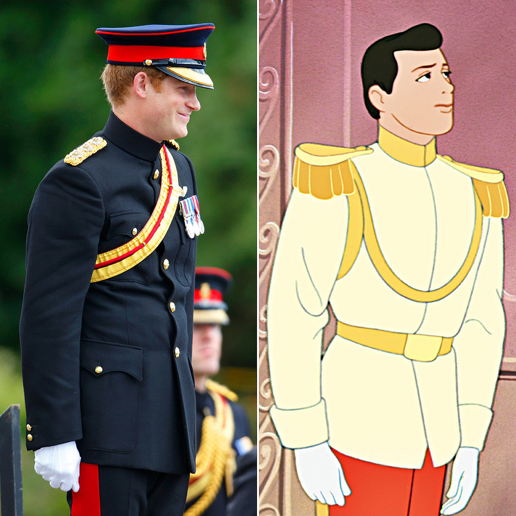 proof that prince harry is a real prince charming