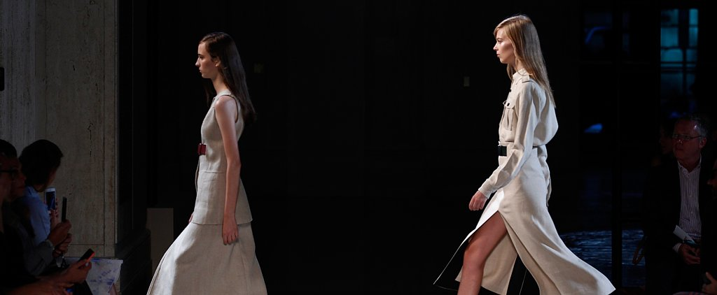 Victoria Beckham Debuts Footwear — and Florals — For Spring '15