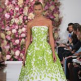 Oscar de la Renta Spring 2015 New York Fashion Week Runway