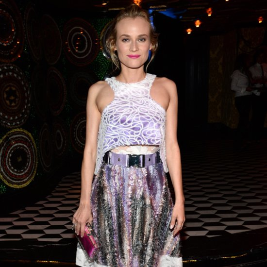 Diane Kruger Wears Prabal Gurung Dress Spring 2015