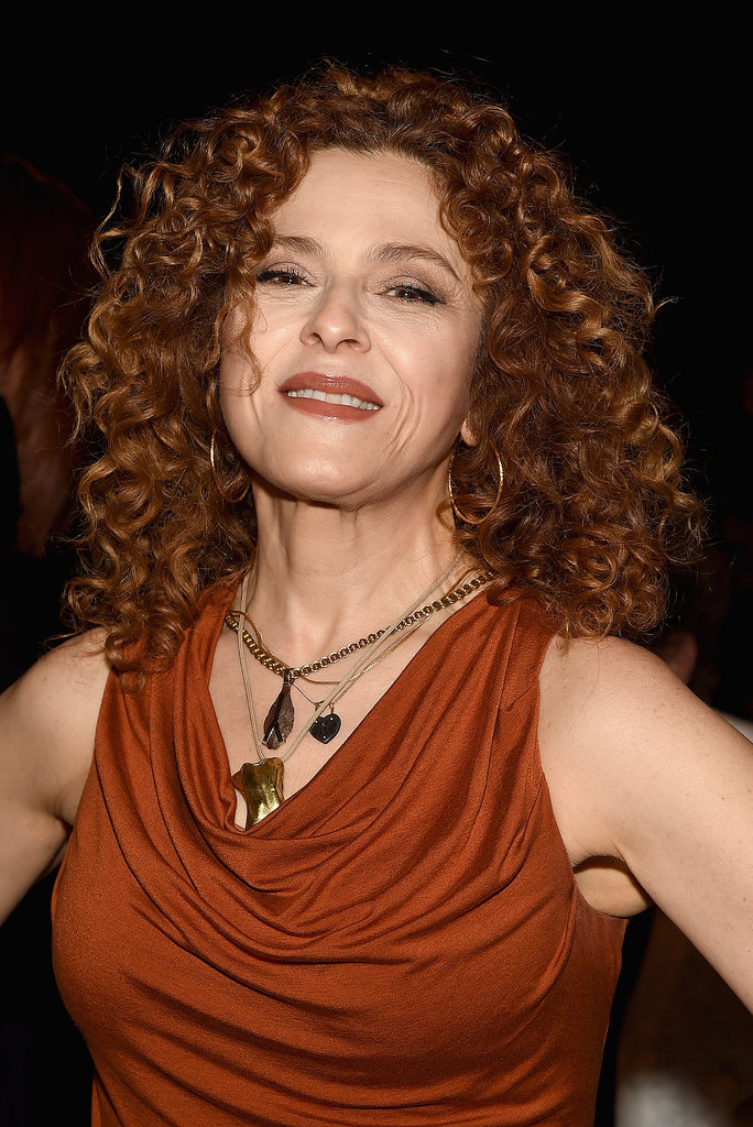 Bernadette Peters at Donna Karan New York
