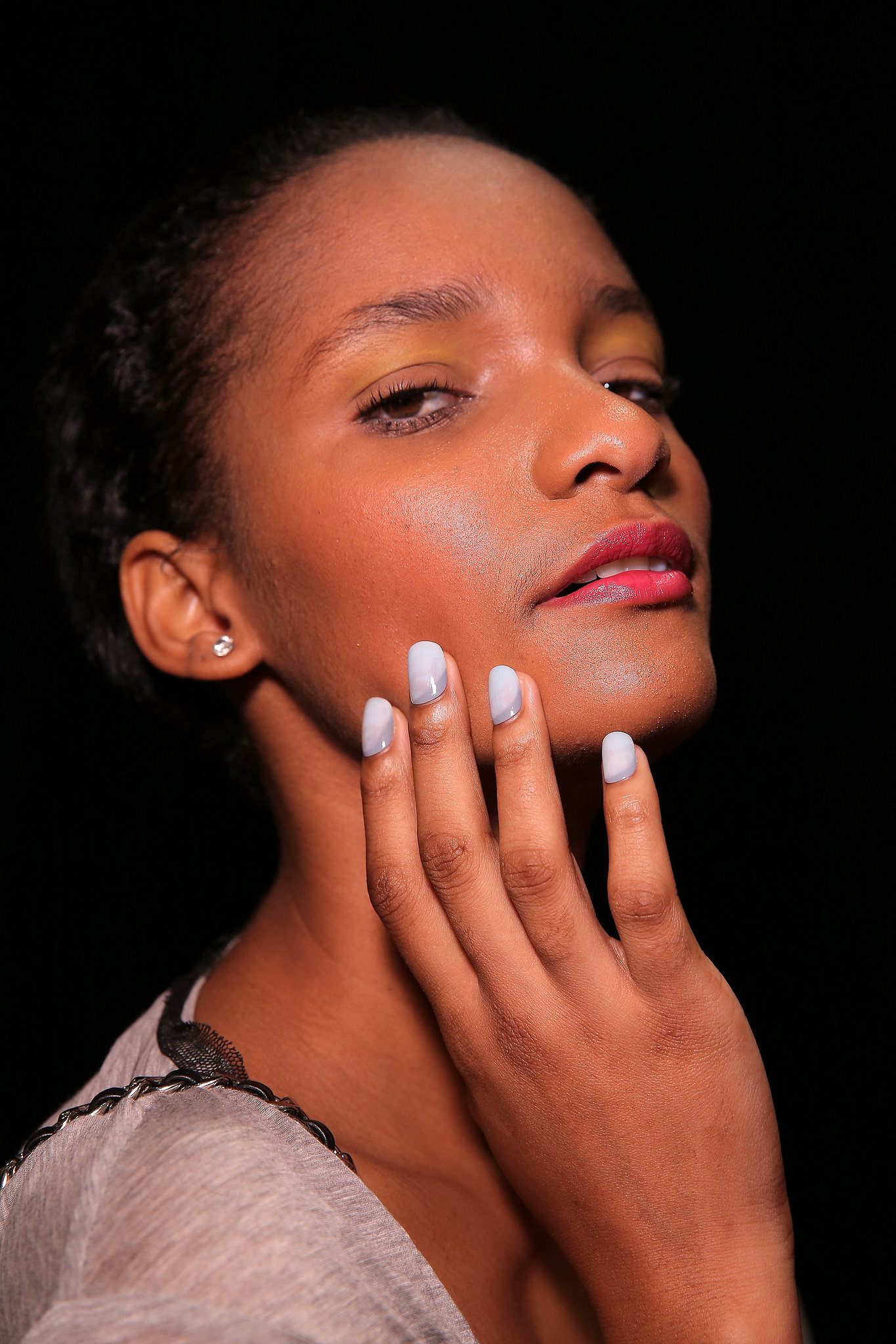 Angel Sanchez Spring 2015 | Spring Nail Art! Copy the Manicure Trends