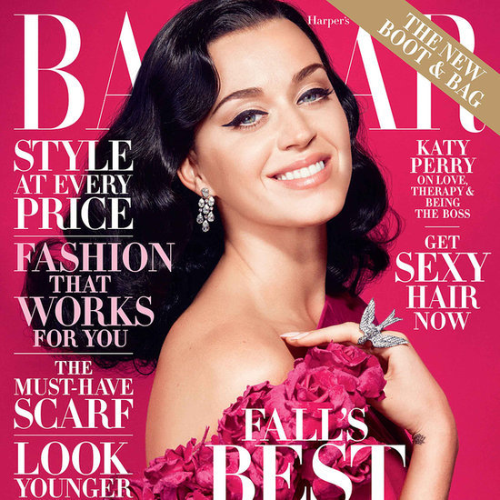 Katy Perry Interview Quotes October 2014 Harper's Bazaar