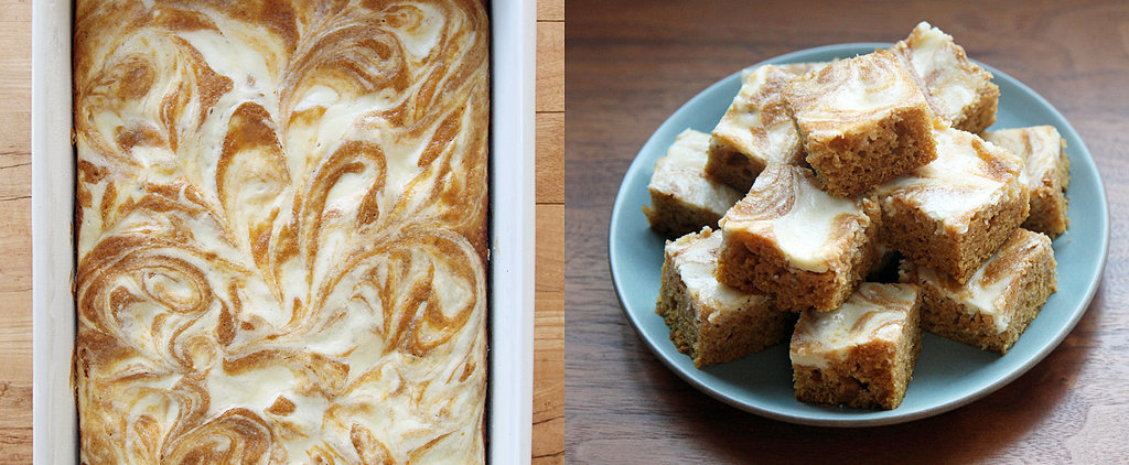 Pumpkin Bars Are Like Cake With the Frosting Already Swirled In