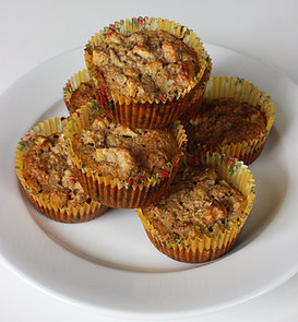 Gluten-Free Apple and Banana Muffins