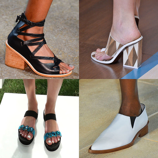 Fashion Week Spring 2015 Shoe Trends