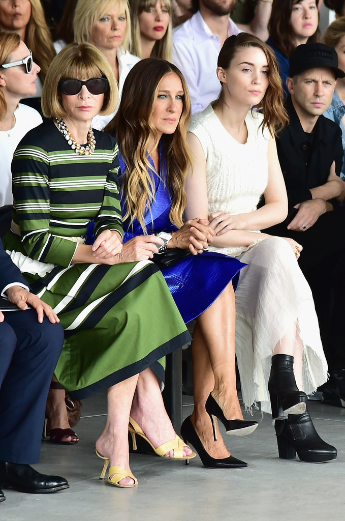 Anna Wintour, Sarah Jessica Parker, and Rooney Mara