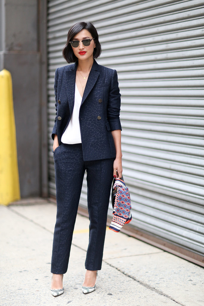 Best Street Style At New York Fashion Week Spring 2015