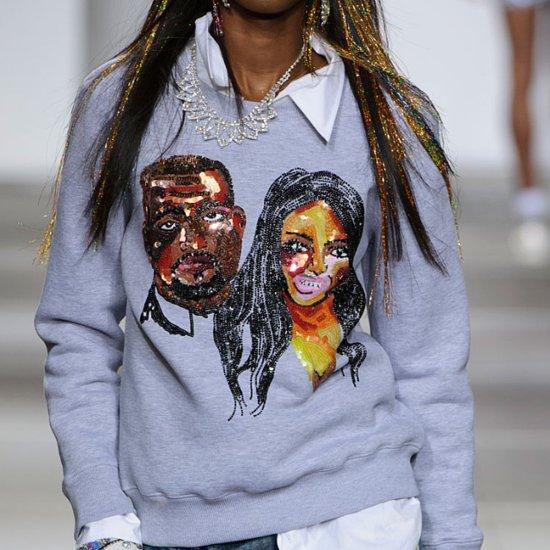 Kim Kardashian and Kanye West Sweatshirt