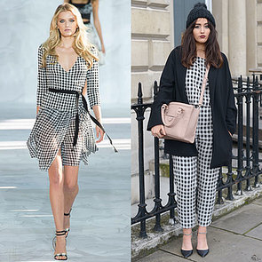 How to Wear Gingham Trend