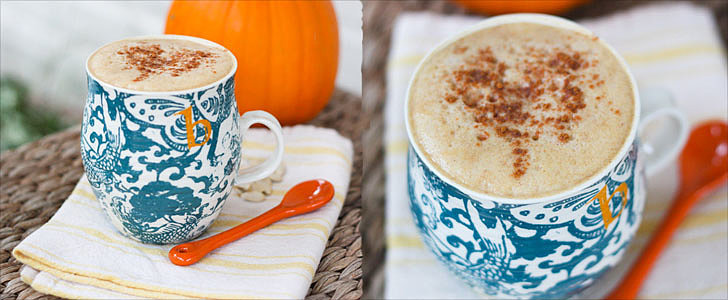 A Healthy Pumpkin Spice Latte You Can Make at Home