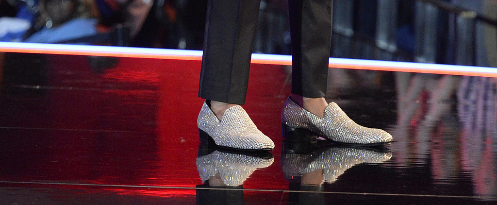 Wait . . . How Many Diamonds Were on Nick Cannon's Loafers?!