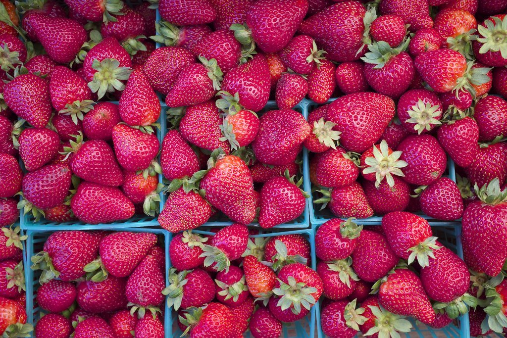 The Fall Food: Strawberries
