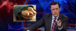 Watch as Stephen Colbert Gets (Understandably) Fired Up About Olive Garden Breadsticks