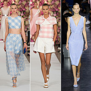 Gingham Spring 2015 Runway Fashion Week Trend