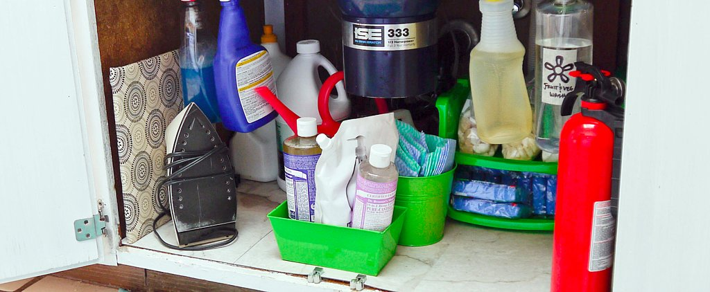 Get Organized Under Your Sink For Less Than $10