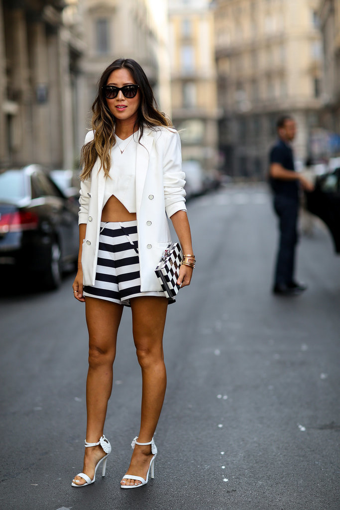Mfw Street Style Day 5 The Best Of Paris Fashion Week Street Style Updated Popsugar Fashion