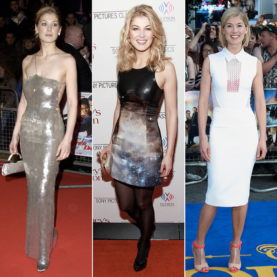 Rosamund Pike's Best Red Carpet Fashion Moments | Pictures