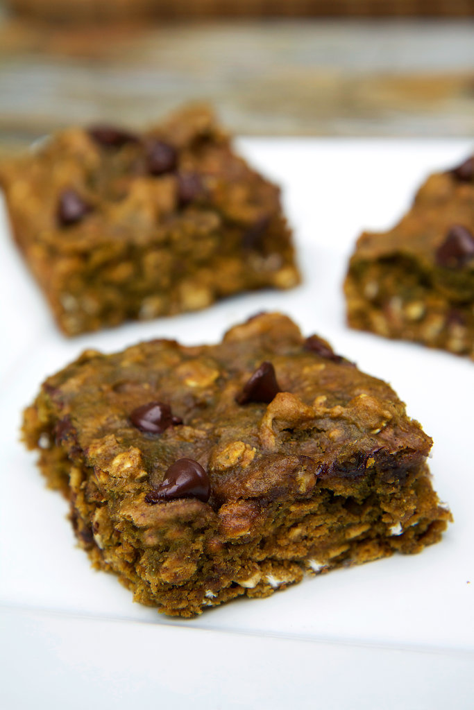 Chocolate Chip Pumpkin Protein Bars
