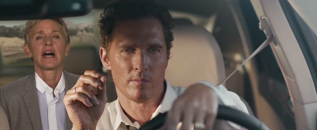 Ellen DeGeneres Greatly Improves Matthew McConaughey's Weird Car Ad