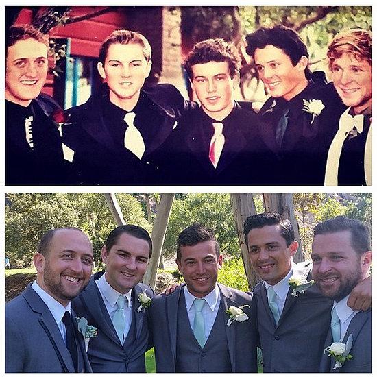 MTV Laguna Beach Guys Re-Create Their Senior Prom Picture