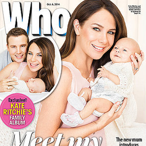 Kate Ritchie Baby Girl Mae Pictures in Who Magazine