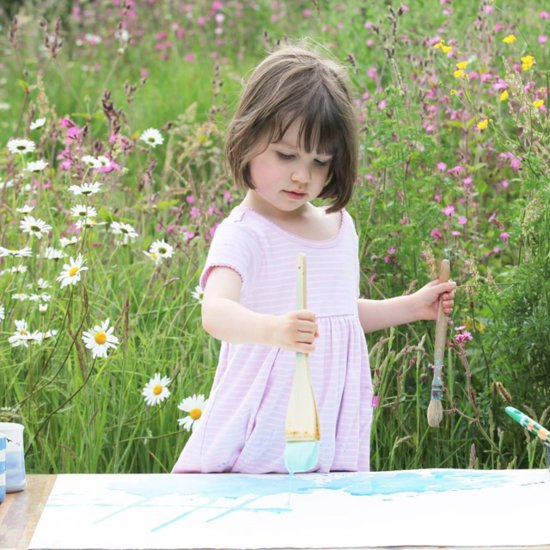 5-Year-Old Autistic Artist