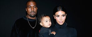 Kim and Kanye Take North to Her First Fashion Show