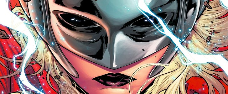 Get a Sneak Peek of the First Female Thor Issue!