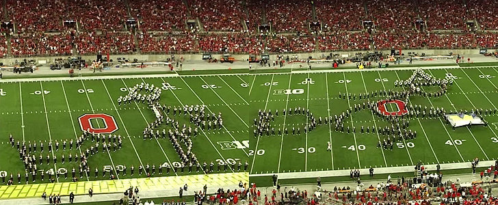 The Ohio State Marching Band's Wizard of Oz Routine Will Blow You Away