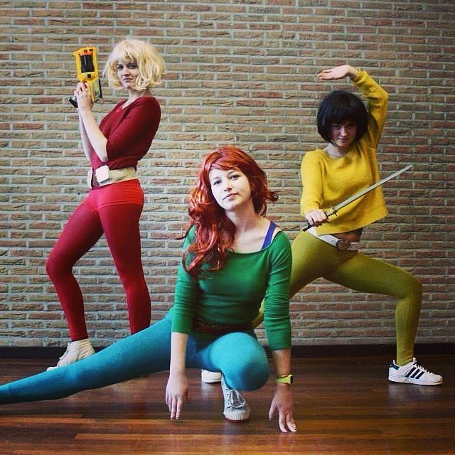 Alex totally spies one wig 14 costumes how to create multiple looks from a single purchase - Totally spies alex ...