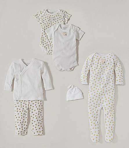 Burt's Bees Baby Best Dressed Baby Set