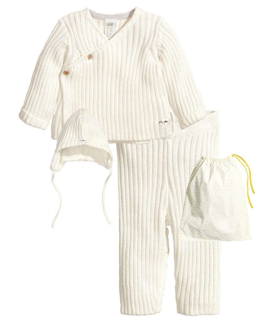 H&M Rib-Knit Set