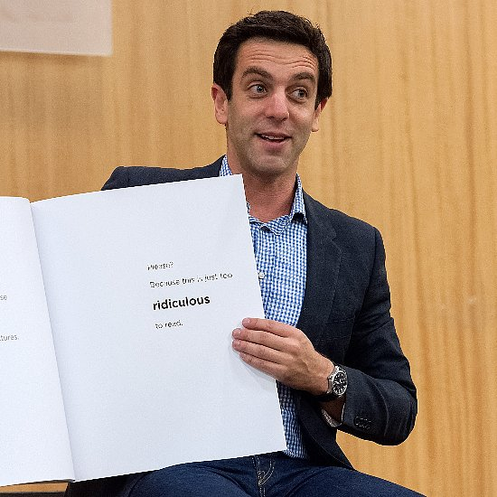 B.J. Novak Reading The Book With No Pictures   Video