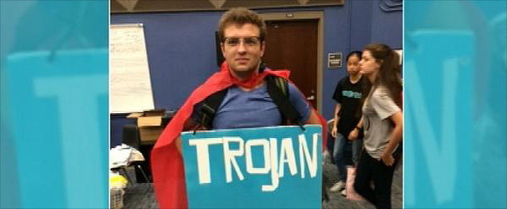 Student Is Forced to Take Off Condom Costume — Was His Free Speech Violated?