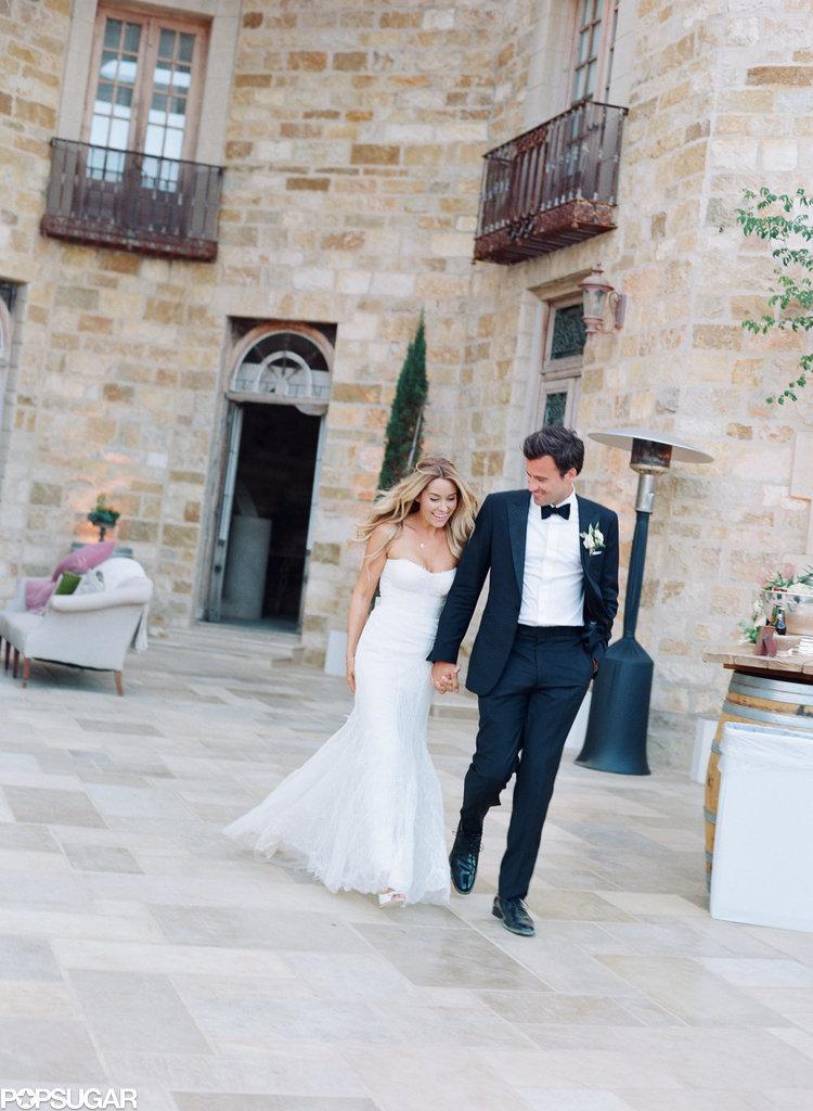 Pictures Of Lauren Conrad's Wedding  Popsugar Celebrity. Princess Wedding Dresses For Sale Uk. Modest Wedding Dresses For Rent. Chiffon Wedding Dresses Green Street. White Gold Wedding Dresses