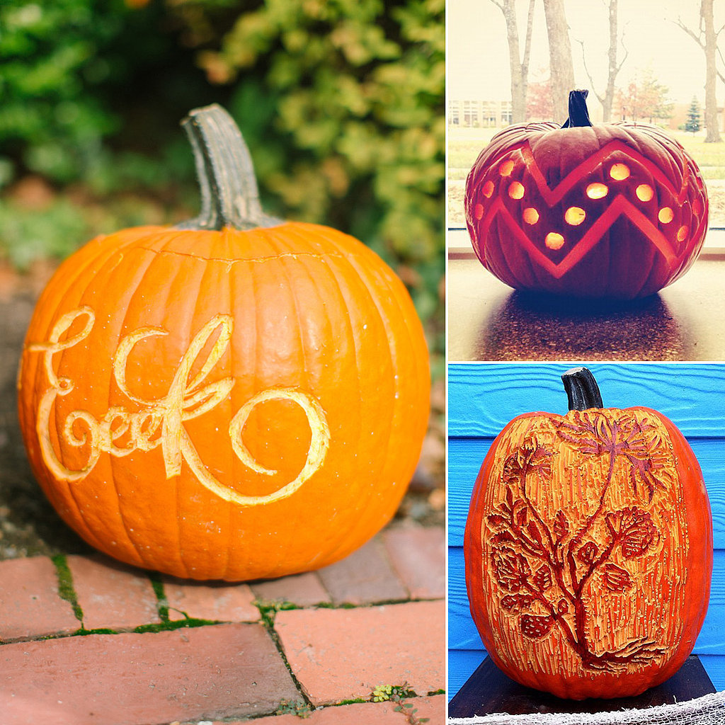 Pumpkin carving ideas popsugar home