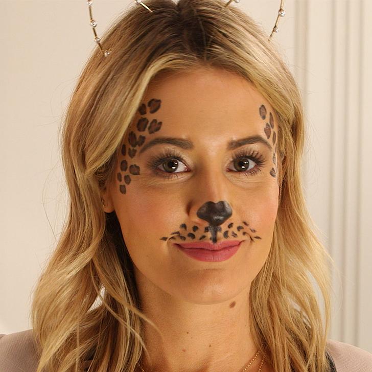 leopard makeup easy mugeek vidalondon