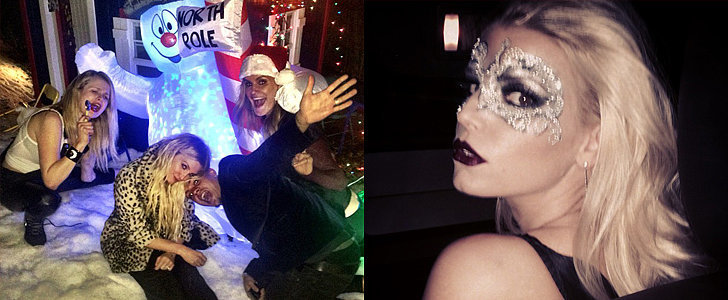 The Simpson Sisters Go All Out For Ashlee's Christmas-Themed B-Day Party