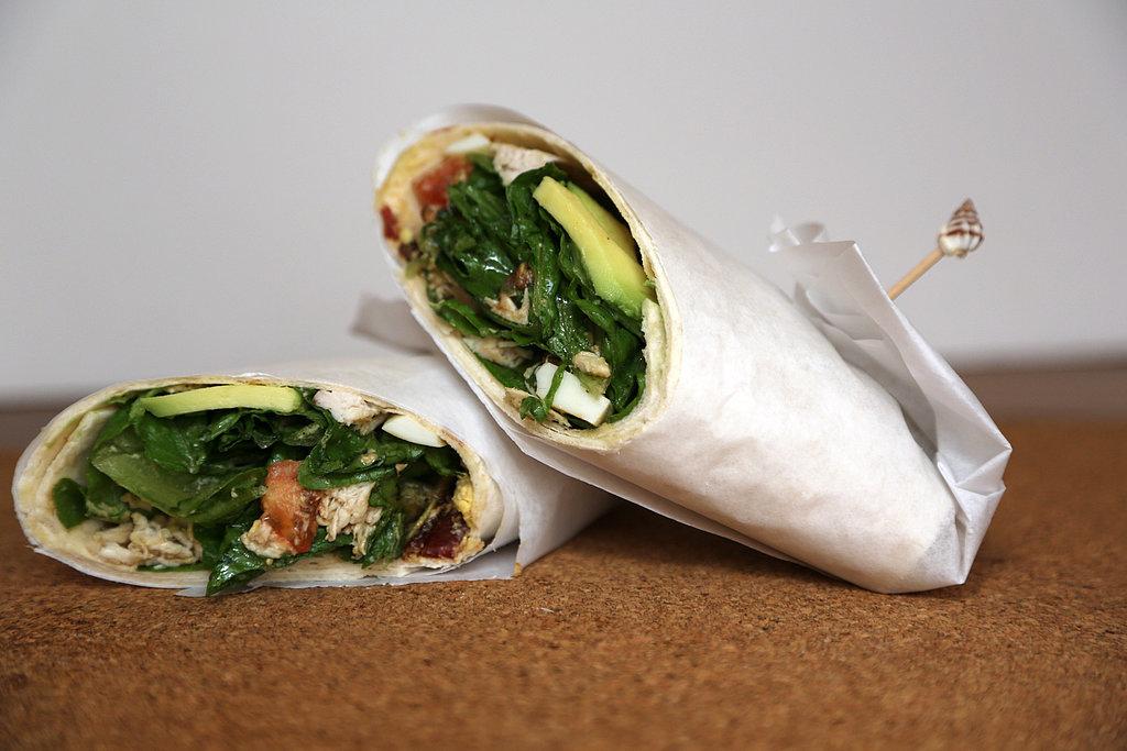 Chicken Cobb Salad Wrap