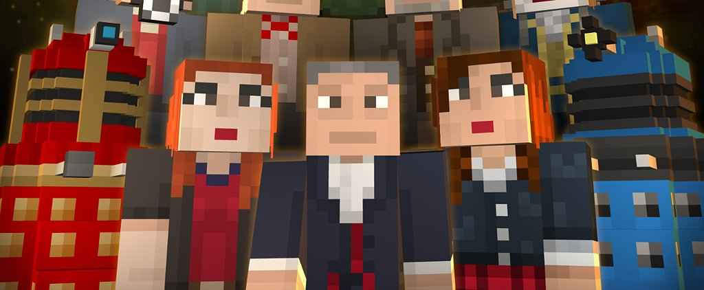 With the Doctor Who Pack, Minecraft Gets Even More Epic